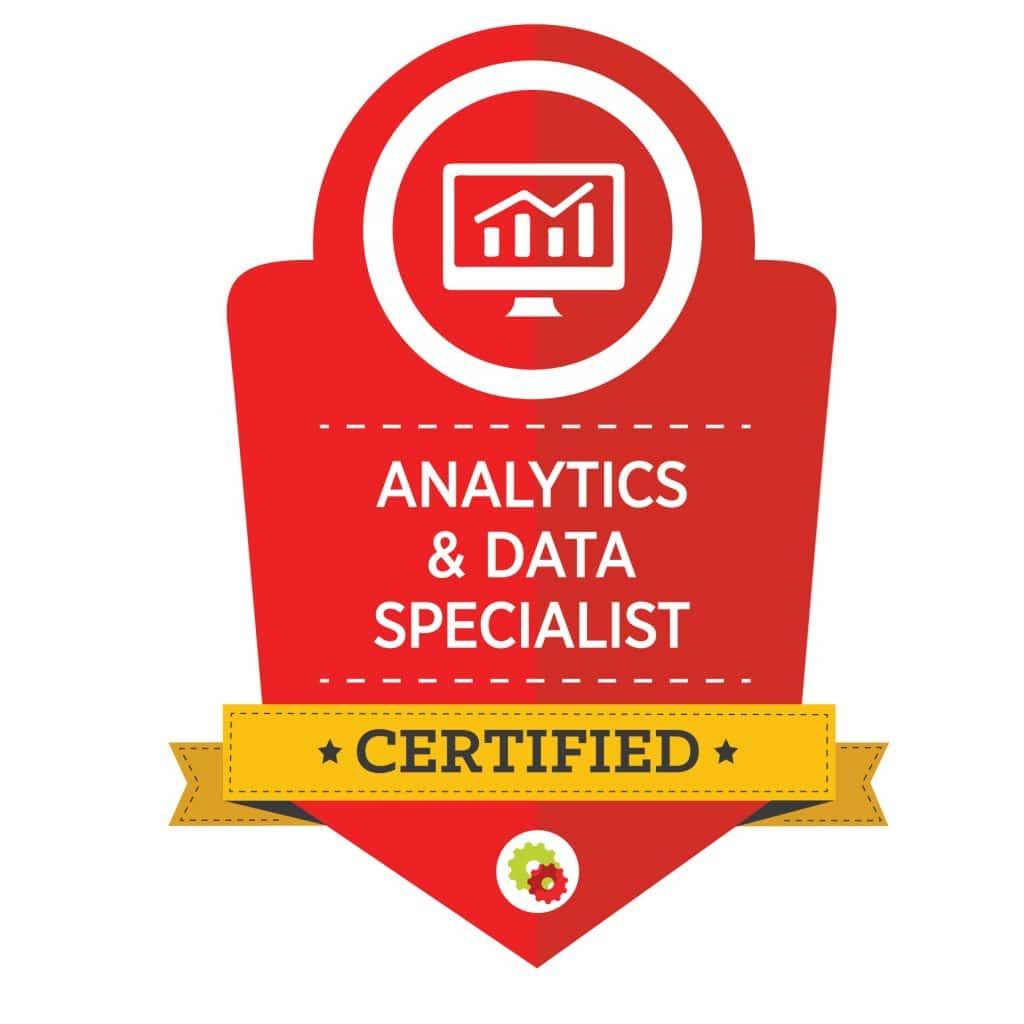 Digital Marketer Analytics & Data Specialist Badge   Musselwhite Marketing
