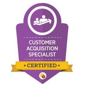 Digital Marketer Customer Acquisition Specialist Badge | Musselwhite Marketing