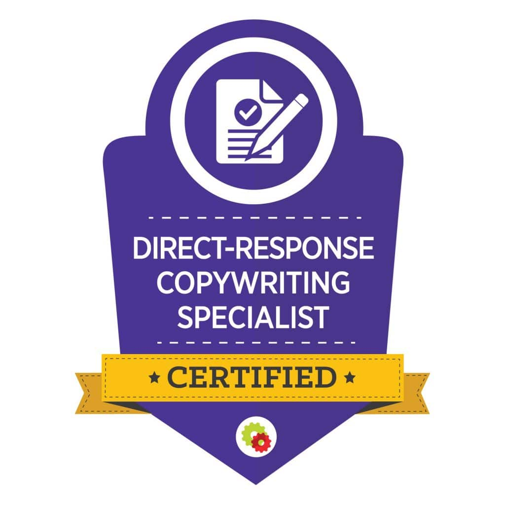 Digital Marketer Direct Response Copywriting Specialist Badge | Musselwhite Marketing