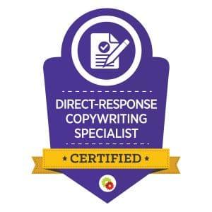 Digital Marketer Direct Response Copywriting Specialist Badge | Musselwhite Marketing