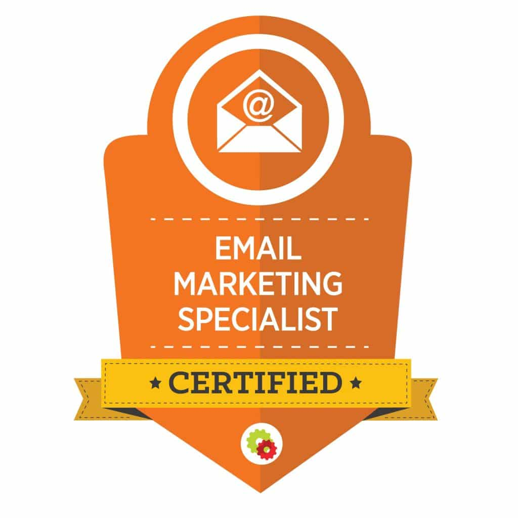 Digital Marketer Email Marketing Specialist Badge | Musselwhite Marketing