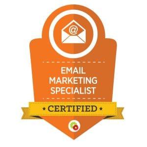 Digital Marketer Email Marketing Specialist Badge | Musselwhite Marketing
