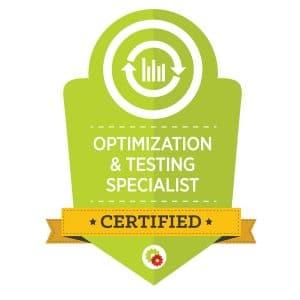 Digital Marketer Optimization & Testing Specialist Badge | Musselwhite Marketing