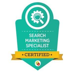Digital Marketer Search Marketing Specialist Badge | Musselwhite Marketing