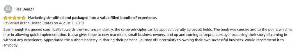 Musselwhite Marketing 7 Pillars of Digital Marketing Amazon Book Review
