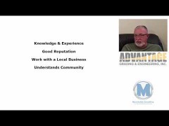 Jerry Russell of Advantage Grading & Engineering