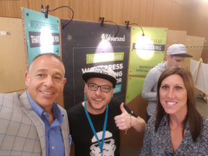 Charles and Linda Musselwhite of Musselwhite Consulting and Marketing attending WordCamp San Diego 2017